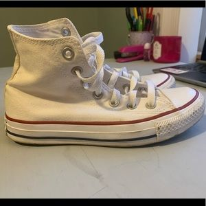 Used White Converse